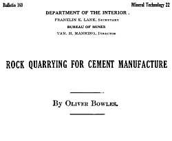 Bulletin Title Page
