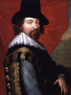 Francis Bacon, head and shoulders, by John Vanderbank, 1731?, after a portrait by an unknown artist