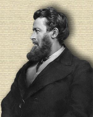 Walter Bagehot, upper body, facing left