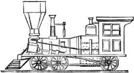 Baldwin Six-wheels-connected Engine 1842