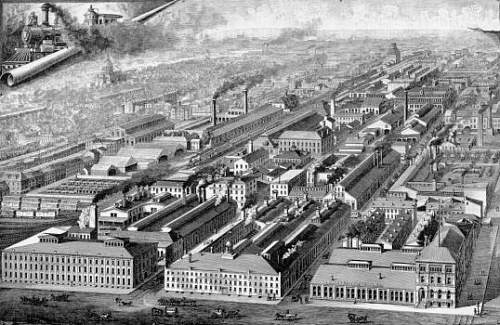 M.W. Baldwin & Co. Locomotive Works
