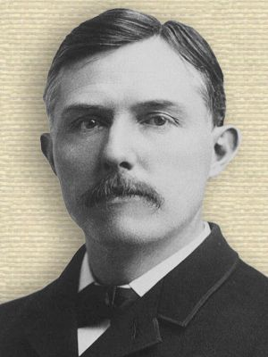 Portrait photo of Edward Emerson Barnard, head and shoulder, facing front