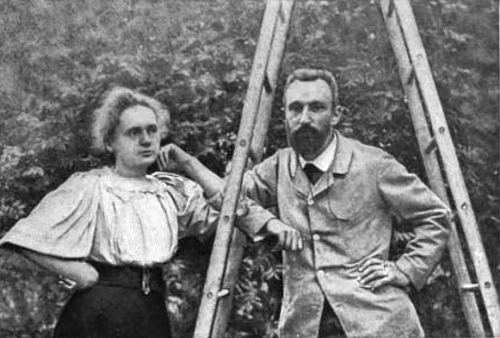 M. Pierre and Mme. Sklodowska Curie