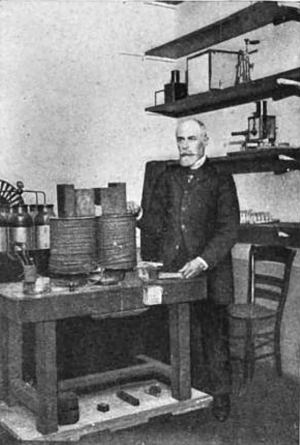 Becquerel and the Experiment with the Magnet