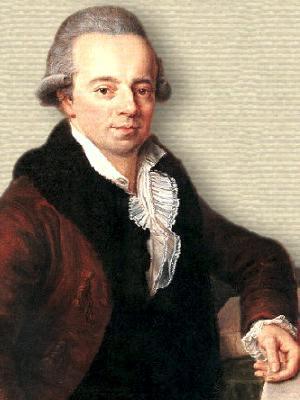 Portrait of Daniel Bernoulli - upper body