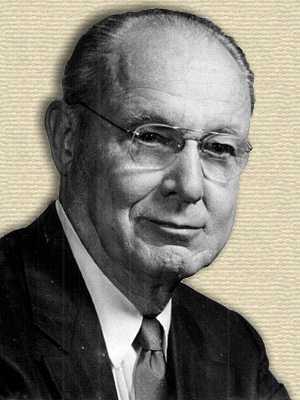 Photo of Richard E. Blackwelder - head and shoulders