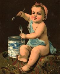 Borden Condensed Milk advertisement