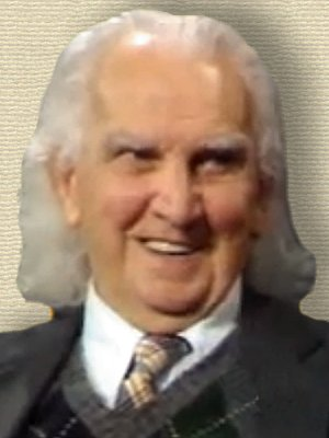 Photo of Kenneth E. Boulding - head and shoulders (from still video frame)