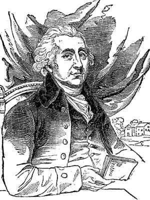 Sketch of Matthew Boulton, upper body, seated