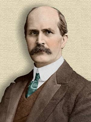 Photo of William Henry Bragg - colorization © todayinsci.com
