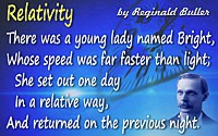 A. H. Reginald Buller quote There was a young lady named Bright