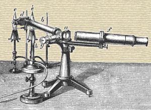 Robert Bunsen's Spectroscope c.1861