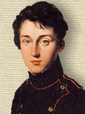 Portrait of Sadi Carnot in military jacket, upper body, facing front