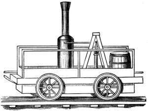 Tom Thumb locomotive
