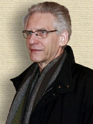 Photo of David Cronenberg - upper body