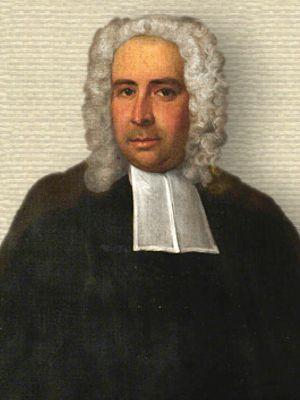 Portrait of J. T. Desaguliers, upper body, facing front