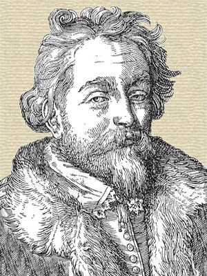 Cornelis Drebbel engraving