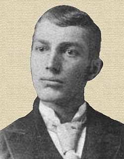 Charles Duryea, about 1894 - head and shoulders