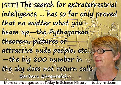 Barbara Ehrenreich quote The big 800 number in the sky does not return calls
