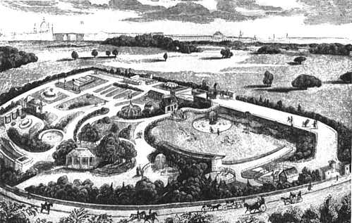 Plan of the Grounds of the Zoological Gardens, by Ethan Allen Andrews