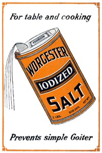 Worcester Iodized Salt Ad