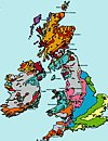 Thumbnail geological map of the British Isles