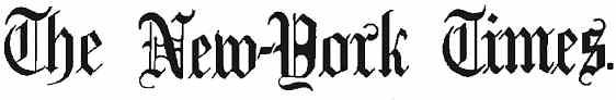 Vintage New-York Times Logo