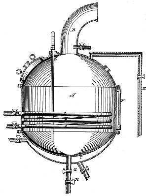 Vacuum Pan - Patent 35,919 - Diagram