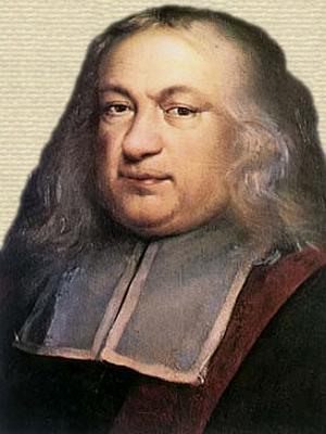 Portrait of Pieere de Fermat - head and shoulders