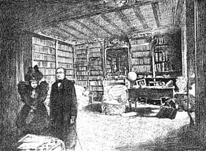 The Library of the Juvisy Observatory
