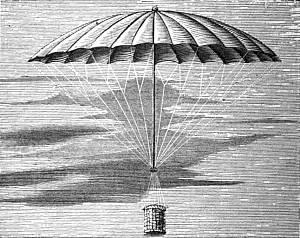 Blanchard's Parachute