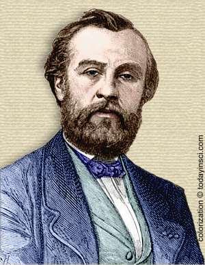 Henri Giffard - colorization © todayinsci.com