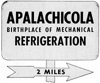 Graphic: Apalachicola, Birthplace of Mechanical Refrigeration