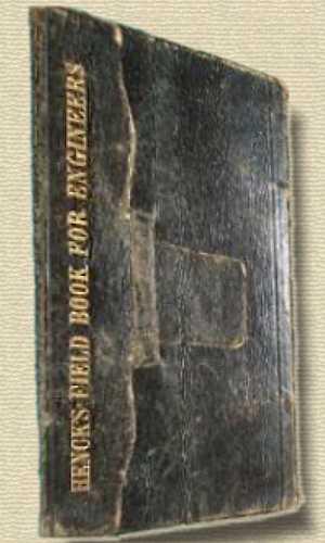 Photo of Henck's Field-Book for Railway Engineers