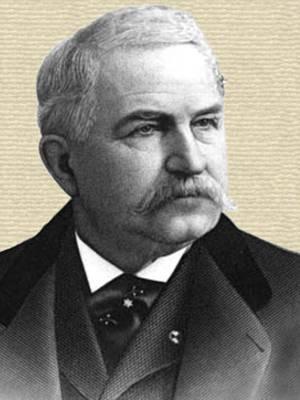 Cornelius N. Hoagland engraving - head and shoulders