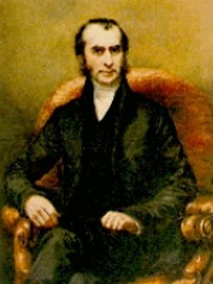Portrait of Thomas Hodgkin, seated