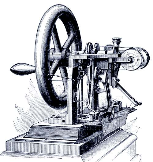 The First Howe Sewing Machine
