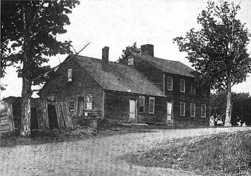 Birthplace Home of William, Tyler and Elias Howe, Spencer, Mass.