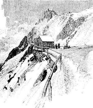 The Refuge at Les Grands Mulets