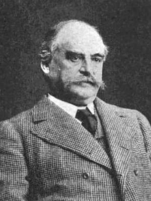 Photo of Robert Wood Johnson Sr, upper body