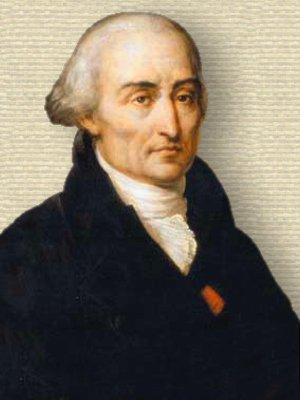 Portrait of Joseph-Louis Lagrange, head and shoulders, facing slightly right