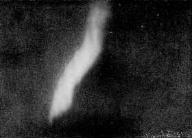 Auroral Band, 1 Feb 1892, photographed by Dr. Brendel