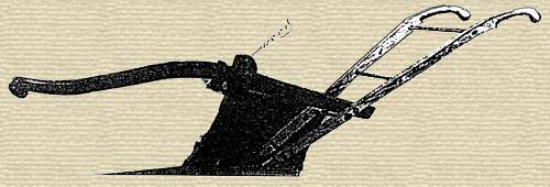 Image of Stephen McCormick's first patented plow, from restored copy of U.S. Patent No. X3063