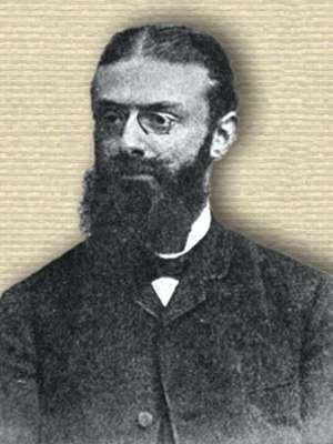 Photo of Albert Neisser, head and shoulders, facing left