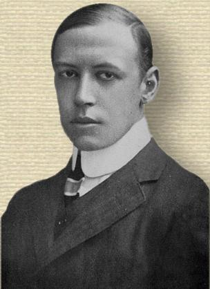 Photo of Alfred Noyes - head and shoulders