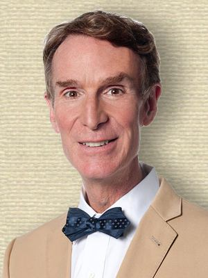 Photo of Bill Nye, head and shoulders, facing front