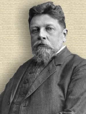 Photo of Erwin Papperitz, upper body, facing forward