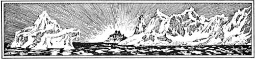 Article header - Drawing of icebergs
