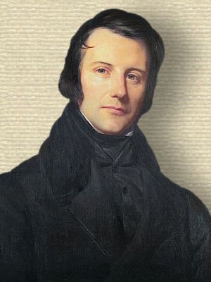 Edgar Quinet - portrait - upper body