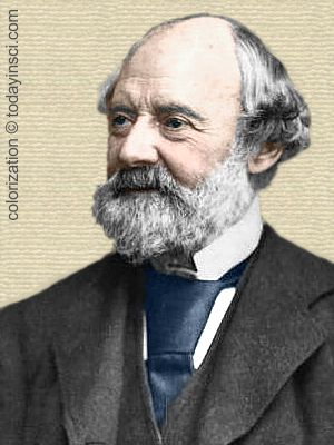 Charles Reade - colorization © todayinsci.com